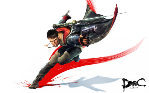 DmC Devil May Cry Game Silk Wall Art Poster Print - 13x20 inch (33x50cm)