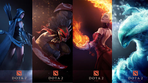 Dota 2 Fantasy 2011 Video Game Game Silk Wall Art Poster Print - 32x48 inch (80x120cm)