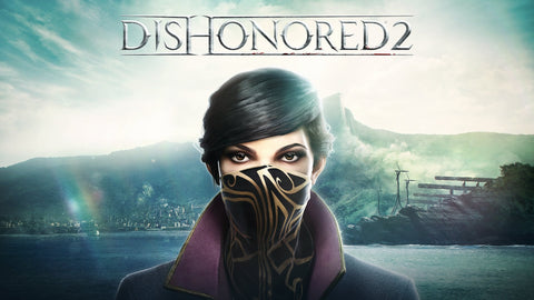 Emily Dishonored 2 Game Silk Wall Art Poster Print - 13x20 inch (33x50cm)