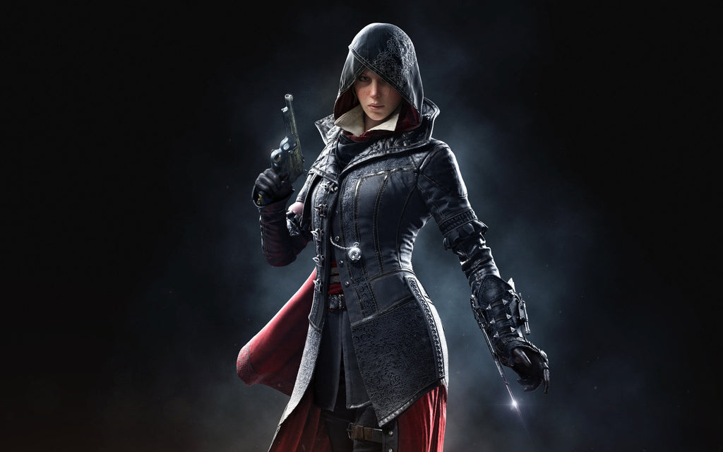 Evie Frye Assassin S Creed Syndicate Game Silk Wall Art Poster