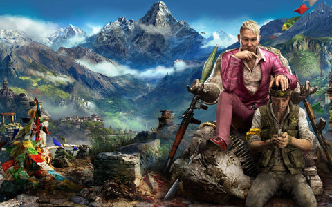 Far Cry 4 New Game Game Silk Wall Art Poster Print - 20x30 inch (50x75cm)