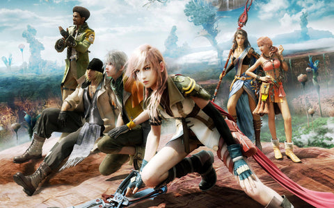 Final Fantasy 13 Game Game Silk Wall Art Poster Print - 32x48 inch (80x120cm)