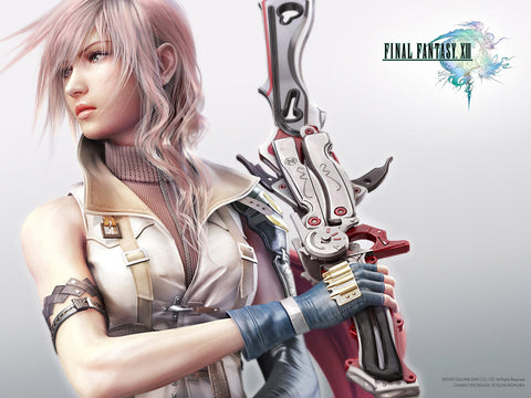 Final Fantasy XIII Game Game Silk Wall Art Poster Print - 13x20 inch (33x50cm)