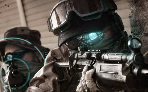 Future Soldier Ghost Recon Game Silk Wall Art Poster Print - 13x20 inch (33x50cm)