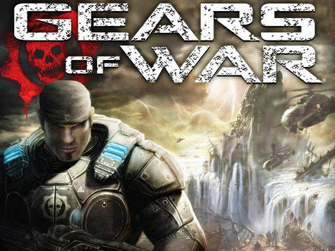 Gears of War DVD Cover Game Silk Wall Art Poster Print - 32x48 inch (80x120cm)