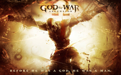 God of War 4 Ascension Game Silk Wall Art Poster Print - 13x20 inch (33x50cm)