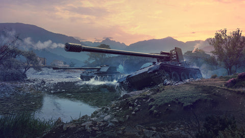 Grille 15 Tank Destroyer World of Tanks Game Silk Wall Art Poster Print - 13x20 inch (33x50cm)