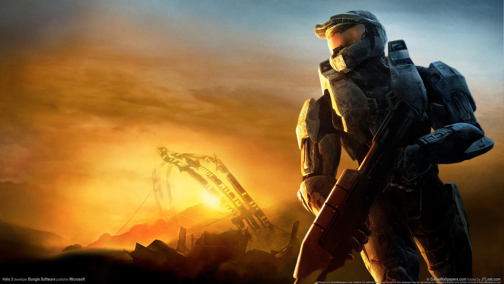 Halo 3 HD Game Silk Wall Art Poster Print - 24x36 inch (60x90cm)