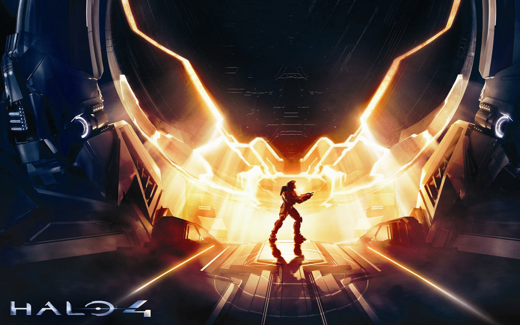 Halo 4 Xbox 360 Game Game Silk Wall Art Poster Print - 24x36 inch (60x90cm)