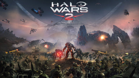 Halo Wars 2 Game Silk Wall Art Poster Print - 13x20 inch (33x50cm)