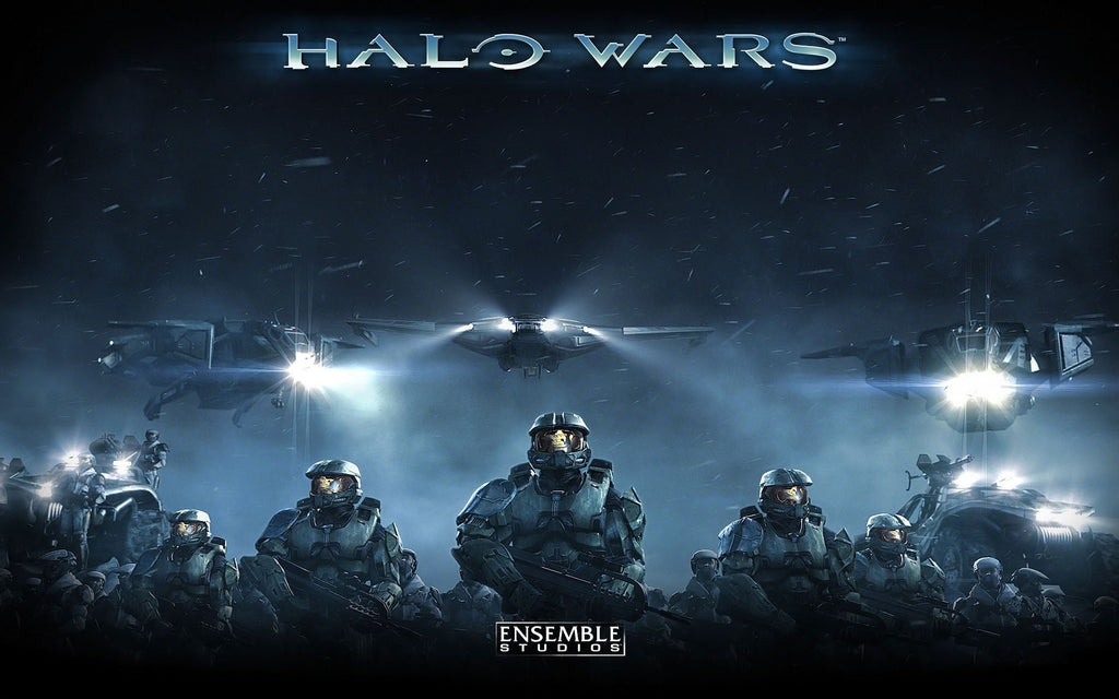 Halo Wars Game Game Silk Wall Art Poster Print - 24x36 inch (60x90cm)