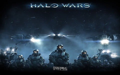 Halo Wars Game Game Silk Wall Art Poster Print - 13x20 inch (33x50cm)