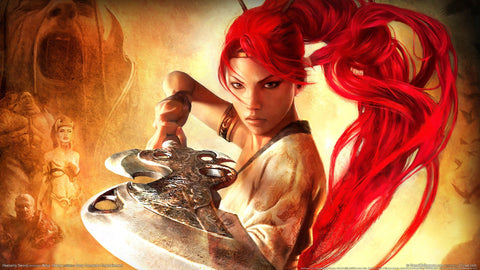 Heavenly Sword Game Silk Wall Art Poster Print - 13x20 inch (33x50cm)