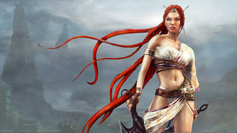Heavenly Sword Game Game Silk Wall Art Poster Print - 13x20 inch (33x50cm)
