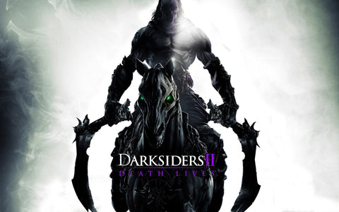 Horseman in Darksiders 2 Game Silk Wall Art Poster Print - 13x20 inch (33x50cm)
