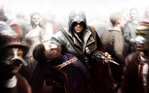 HQ Assasin's Creed Game Silk Wall Art Poster Print - 13x20 inch (33x50cm)