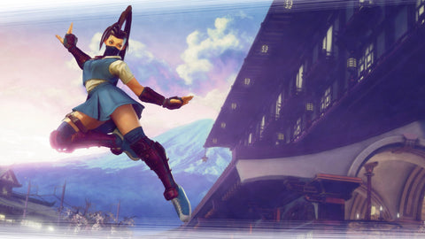 Ibuki Street Fighter V Game Silk Wall Art Poster Print - 13x20 inch (33x50cm)