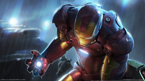 Iron Man Game Silk Wall Art Poster Print - 13x20 inch (33x50cm)