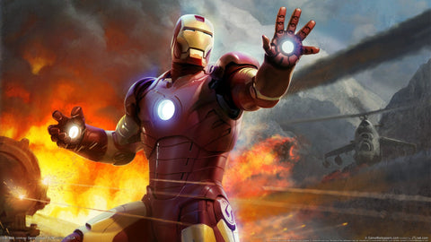 Iron Man HD Game Game Silk Wall Art Poster Print - 32x48 inch (80x120cm)