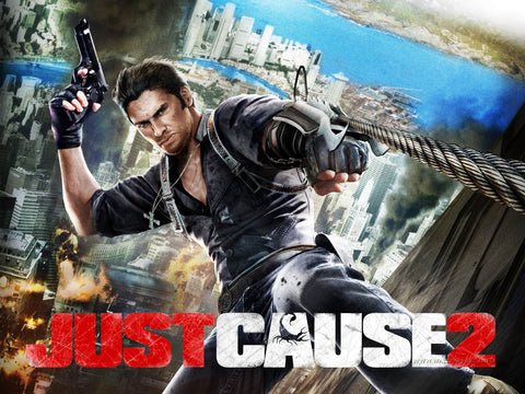Just Cause 2 Game Game Silk Wall Art Poster Print - 32x48 inch (80x120cm)