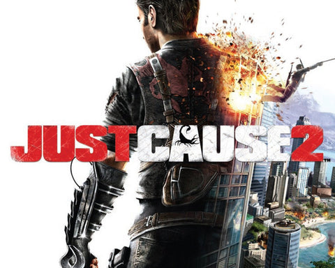 Just Cause 2 PS3 Game Game Silk Wall Art Poster Print - 32x48 inch (80x120cm)