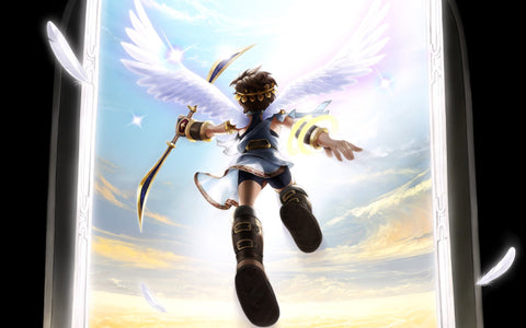 Kid Icarus Uprising Nintendo 3DS Game Silk Wall Art Poster Print - 20x30 inch (50x75cm)