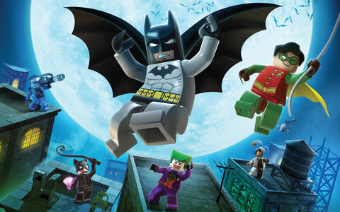 LEGO Batman Game Game Silk Wall Art Poster Print - 13x20 inch (33x50cm)