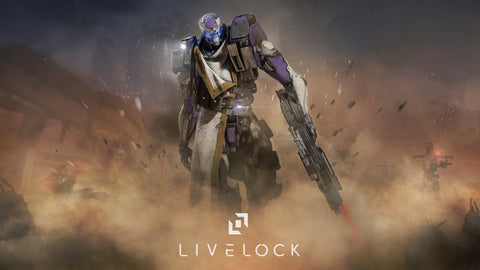 Livelock PS4 Game 4K Game Silk Wall Art Poster Print - 32x48 inch (80x120cm)