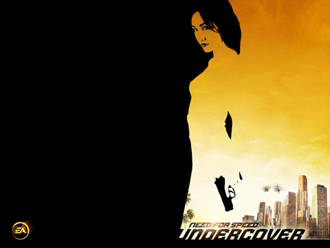 Maggie Q NFS Undercover Game Silk Wall Art Poster Print - 32x48 inch (80x120cm)