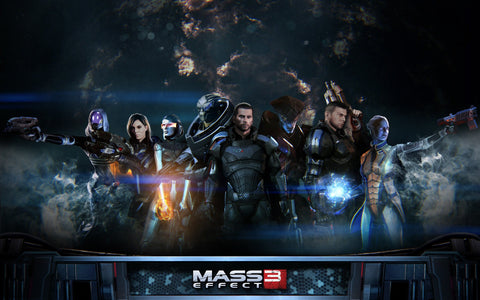 Mass Effect 3 Extended Cut Game Silk Wall Art Poster Print - 13x20 inch (33x50cm)