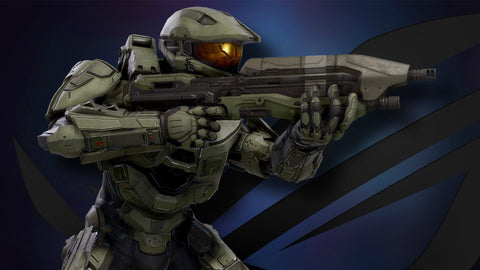 Master Chief ROG Game Silk Wall Art Poster Print - 32x48 inch (80x120cm)