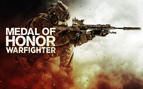 Medal Of Honor WarFighter Game Game Silk Wall Art Poster Print - 13x20 inch (33x50cm)