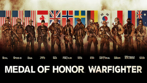 Medal of Honor Warfighter Tier 1 Special Forces Game Silk Wall Art Poster Print - 13x20 inch (33x50cm)