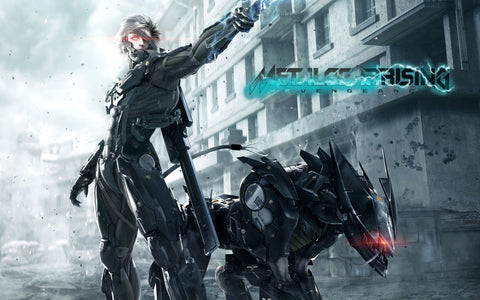 Metal Gear Rising Revengeance 3 Game Silk Wall Art Poster Print - 13x20 inch (33x50cm)