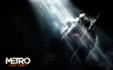 Metro Last Light 2013 Game Game Silk Wall Art Poster Print - 20x30 inch (50x75cm)