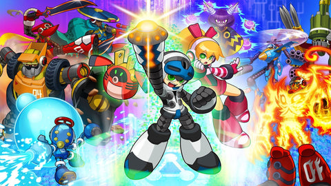 Mighty no 9 2016 Video Game Game Silk Wall Art Poster Print - 32x48 inch (80x120cm)