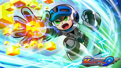 Mighty No 9 Game Game Silk Wall Art Poster Print - 32x48 inch (80x120cm)