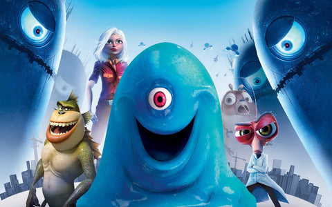 Monsters vs. Aliens Game Silk Wall Art Poster Print - 32x48 inch (80x120cm)