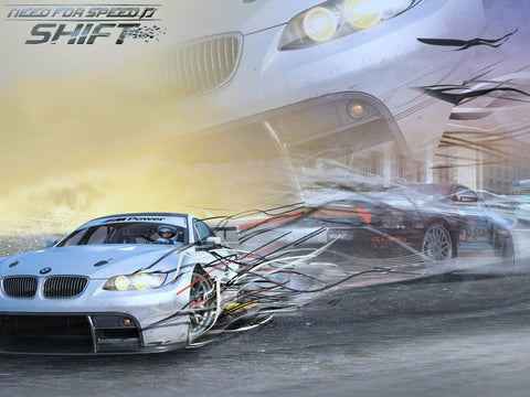 Need for Speed Shift Game Silk Wall Art Poster Print - 13x20 inch (33x50cm)