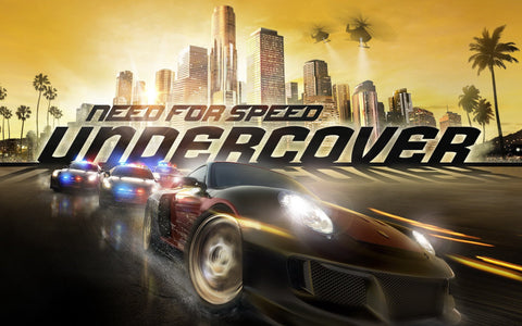 Need for Speed Undercover Game Silk Wall Art Poster Print - 13x20 inch (33x50cm)