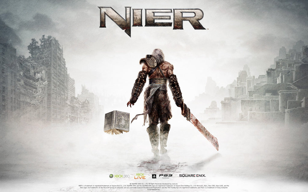 NIER (2010) Game Game Silk Wall Art Poster Print - 24x36 inch ...
