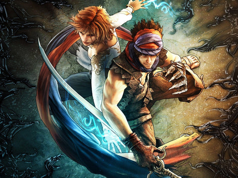 Prince of Persia Art Game Silk Wall Art Poster Print - 13x20 inch (33x50cm)