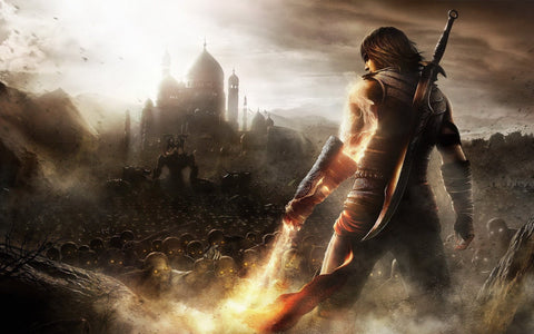 Prince of Persia The Forgotten Sands Game Silk Wall Art Poster Print - 13x20 inch (33x50cm)