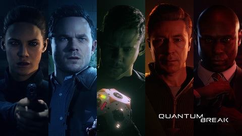 Quantum Break Cast Game Silk Wall Art Poster Print - 13x20 inch (33x50cm)