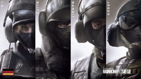 Rainbow Six Siege GSG9 Game Silk Wall Art Poster Print - 32x48 inch (80x120cm)