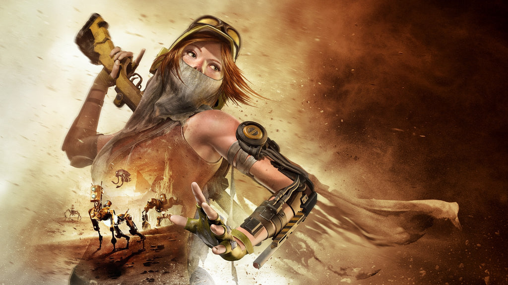 Recore Hd Xbox One Game Silk Wall Art Poster Print 24x36 Inch