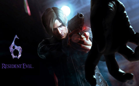 Resident Evil 6 Game Silk Wall Art Poster Print - 13x20 inch (33x50cm)