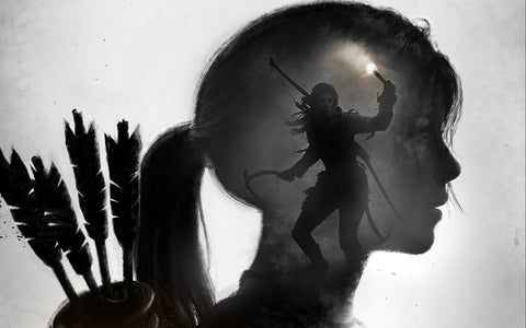 Rise of the Tomb Raider I Shall Rise Game Silk Wall Art Poster Print - 32x48 inch (80x120cm)