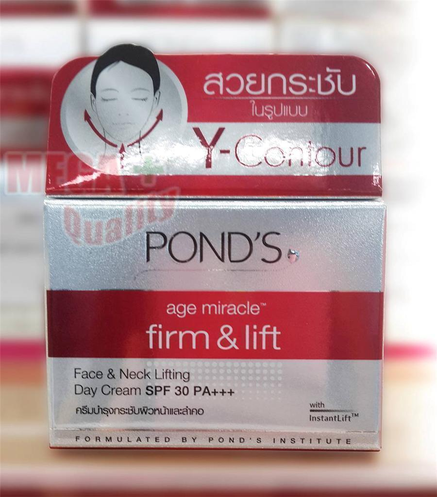 Pond S Age Miracle Firm And Lift Face Neck Lifting Day Cream Spf Ponds 30 Pa