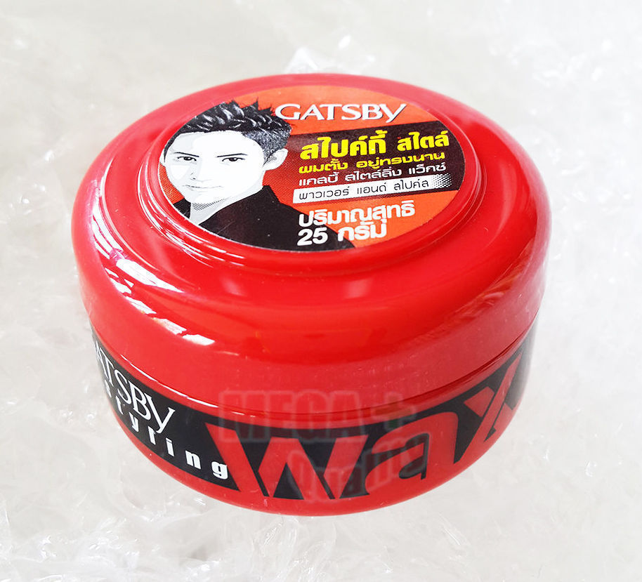 Gatsby Wax Power And Spikes Gel Japan For Men Series Hair Styling 25
